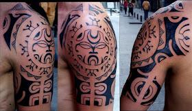 foto de tainiatilti: tatouage maori bras