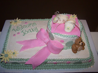 Julie Daly Cakes Baby Shower