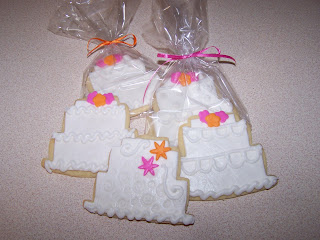 wedding cake cookie favors julie daly cakes wedding cake cookie favors 8598