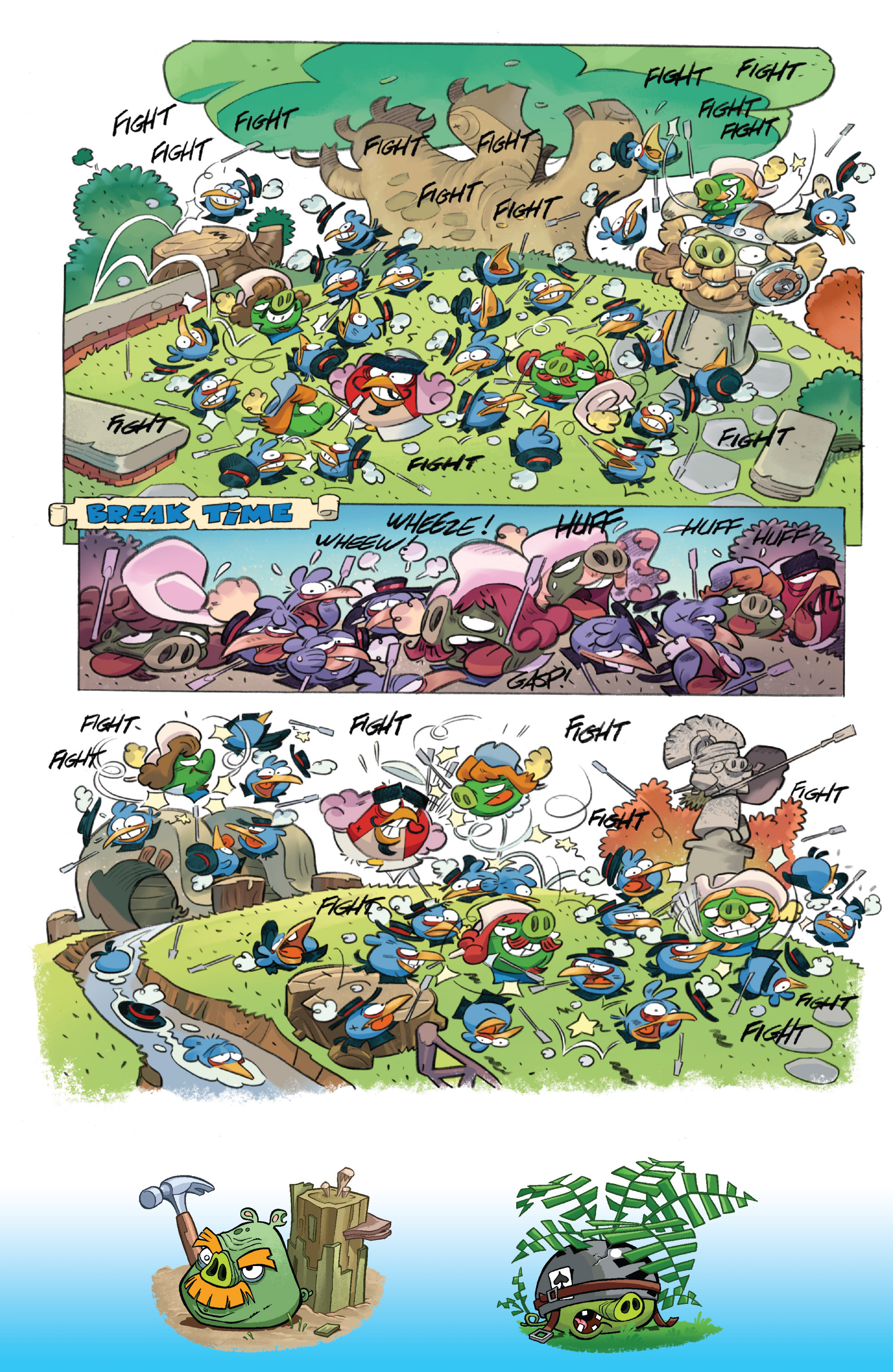 Read online Angry Birds Comics (2016) comic -  Issue #1 - 21