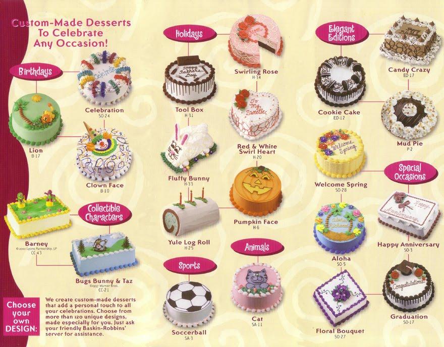 Ice Cake Baskin Robbins Harga