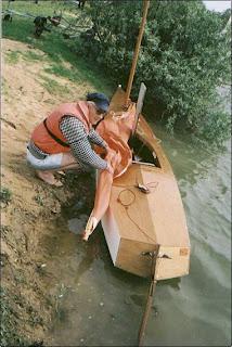 Bill's Log: 'Sharpy', 15' drop-keel Sailing Canoe