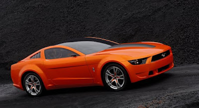 Future mustang concept