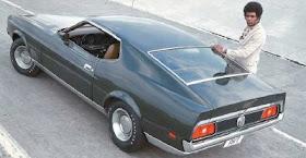 71 72 73 Ford Mustang Radio Bezel