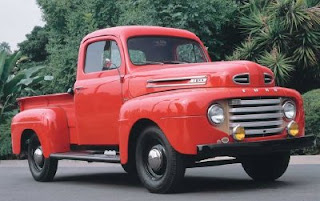 Notice The Sleek Functionality Of This F 1 Ford Truck From 1950