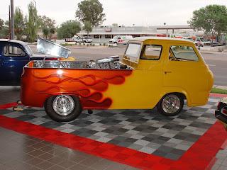 SPORT TRUCK MODIF: Custom 1962 Ford Econoline Pickup Hot Rod