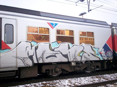 beren train graffiti horme
