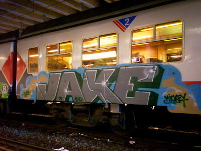 JAKE graffiti