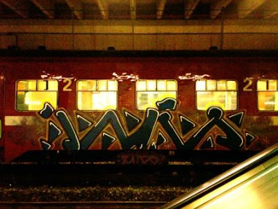 james Train graffiti