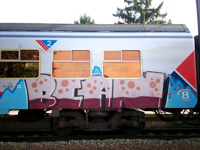 train graffiti artist