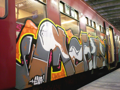 Mad Catz graffiti crew for Eva