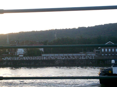 Along the quay of the Meuse, near Liege, was written in white letters the word anticonstitutionnellement. This word is the longest of the French language.
