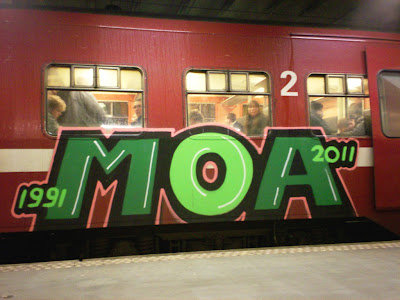 MOA - 20 YEARS OF graffiti