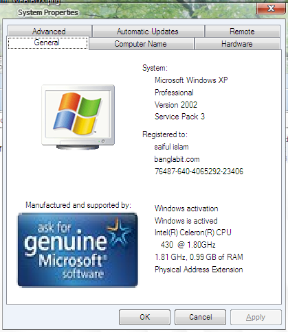 windows xp genuine remover tool free download