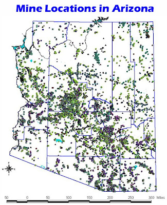 Map Of Arizona Mines.Darren S Rides Arizona Mine S Abandoned Mines