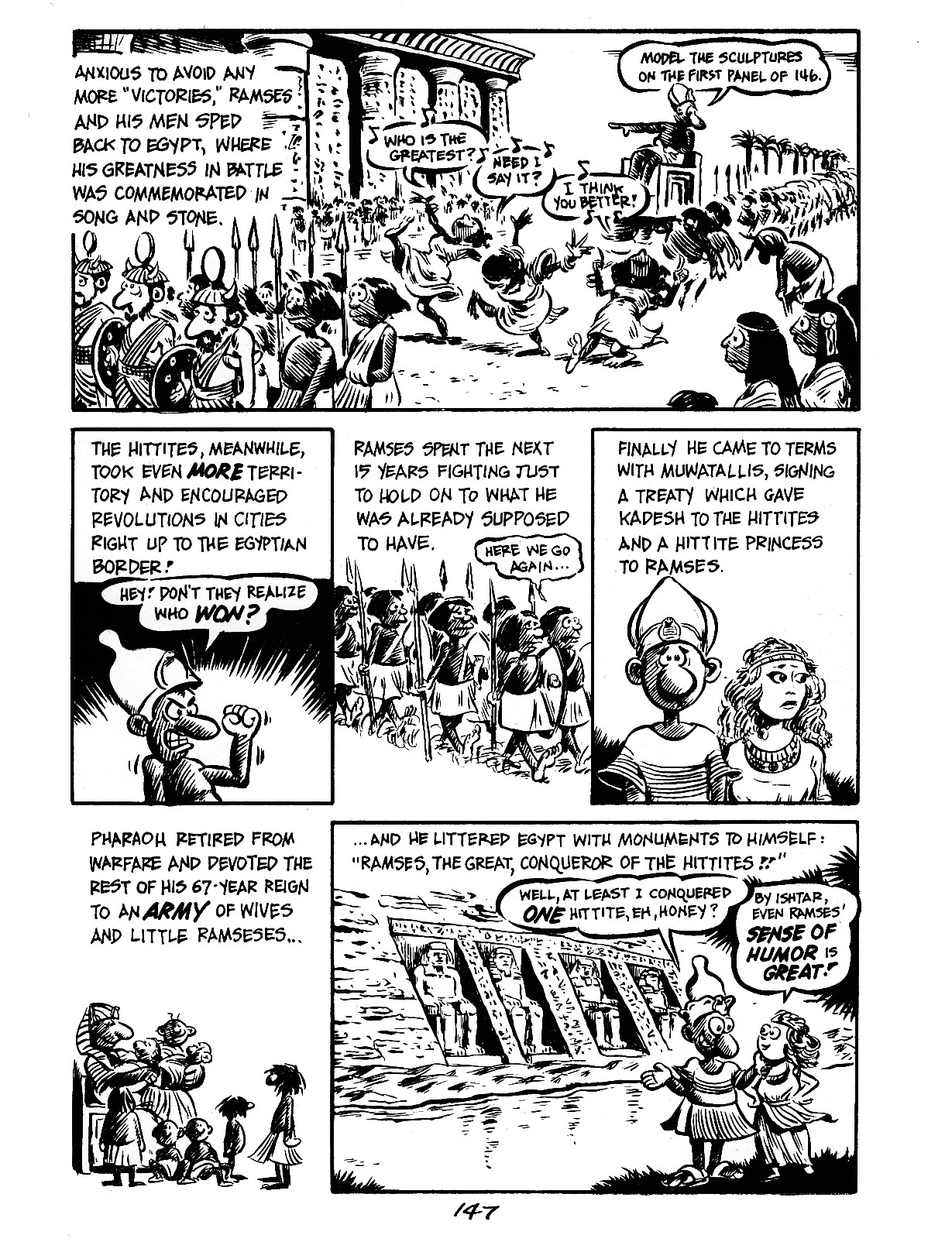 Read online The Cartoon History of the Universe comic -  Issue #3 - 47