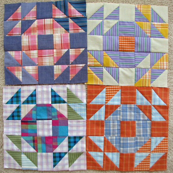 Lazy Gal Quilting Crown Of Thorn Blocks