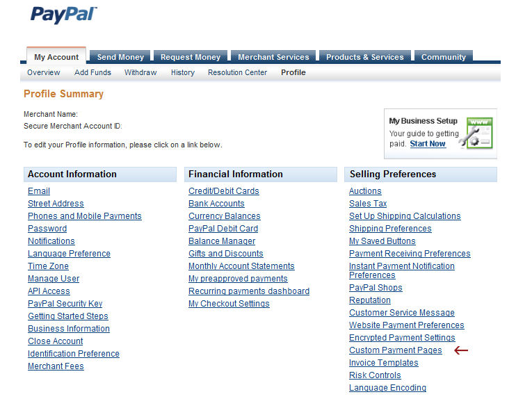 Paypal Account List