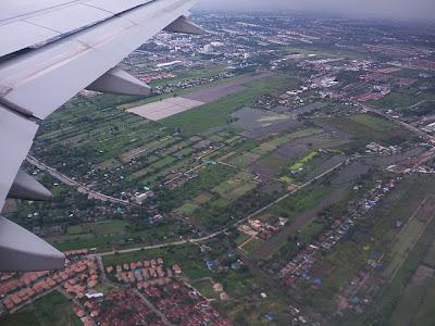 Bangkok from Aeroplane