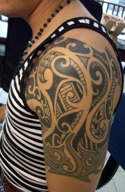 Maori Tattoo Culture: Maori Tattoos Part 05