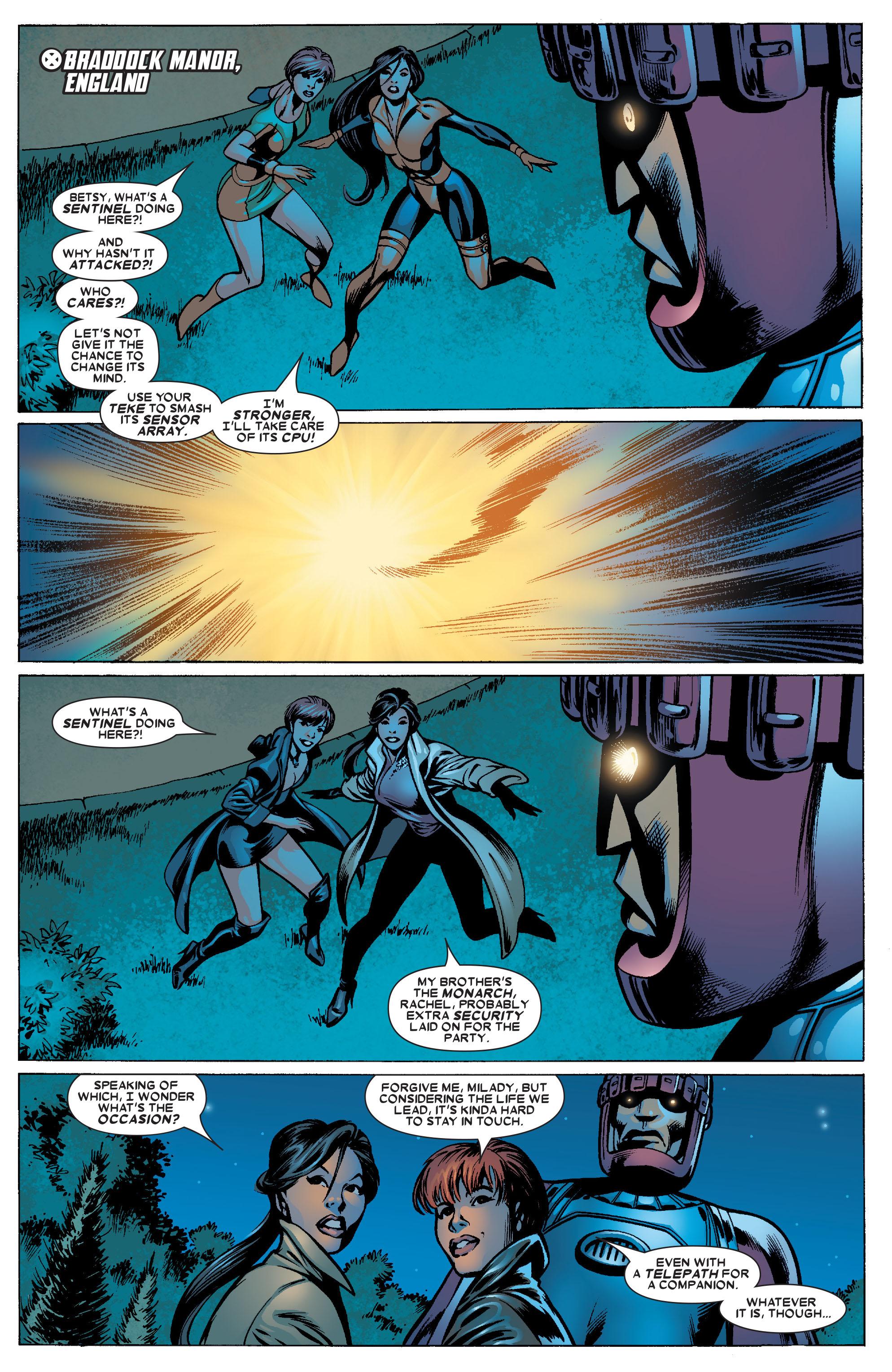 Read online Uncanny X-Men (1963) comic -  Issue #463 - 3