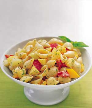 HAWAIIAN PINEAPPLE PASTA SALAD
