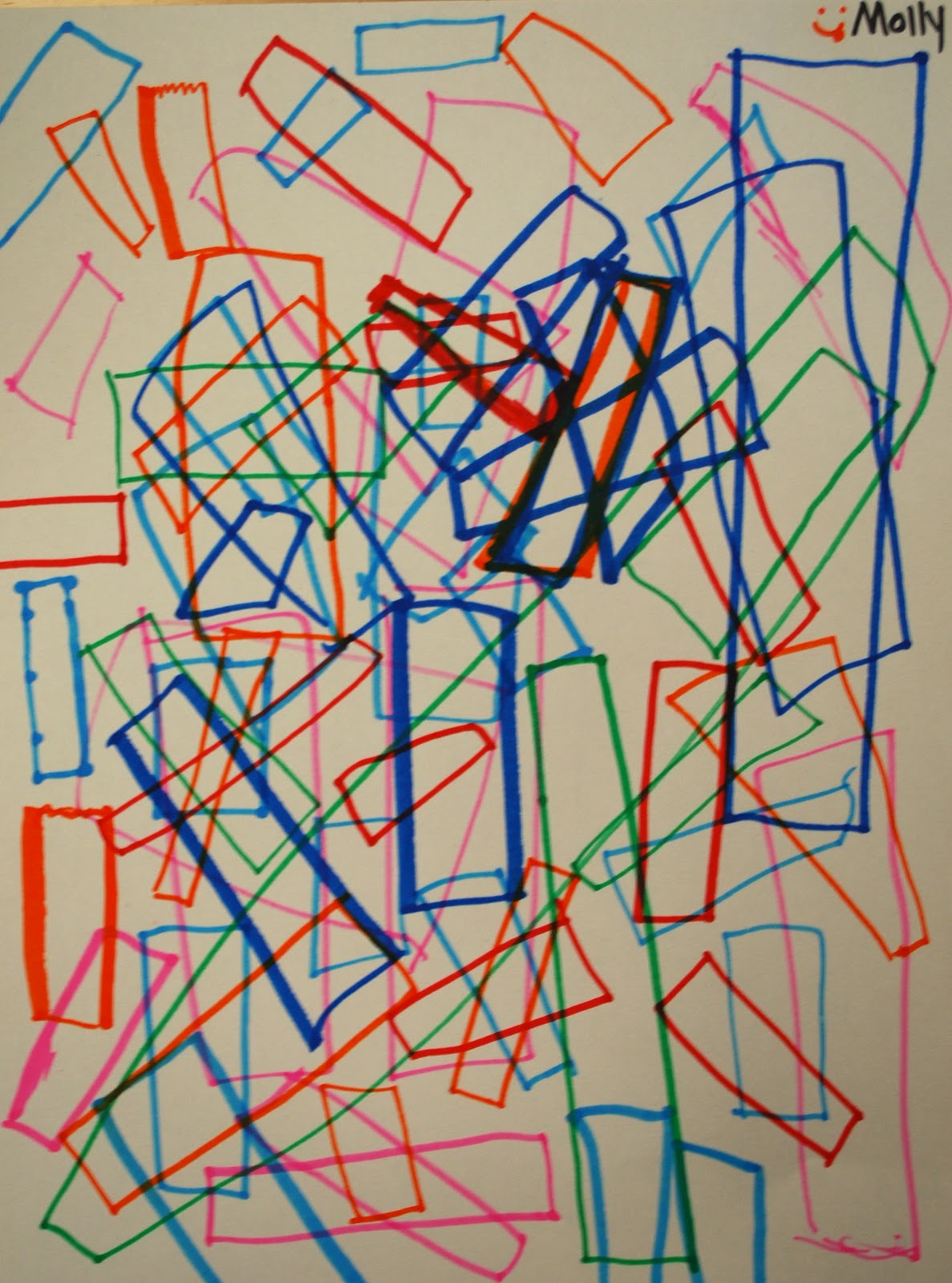 Adventures Of An Art Teacher 1st Grade Geometric Shape