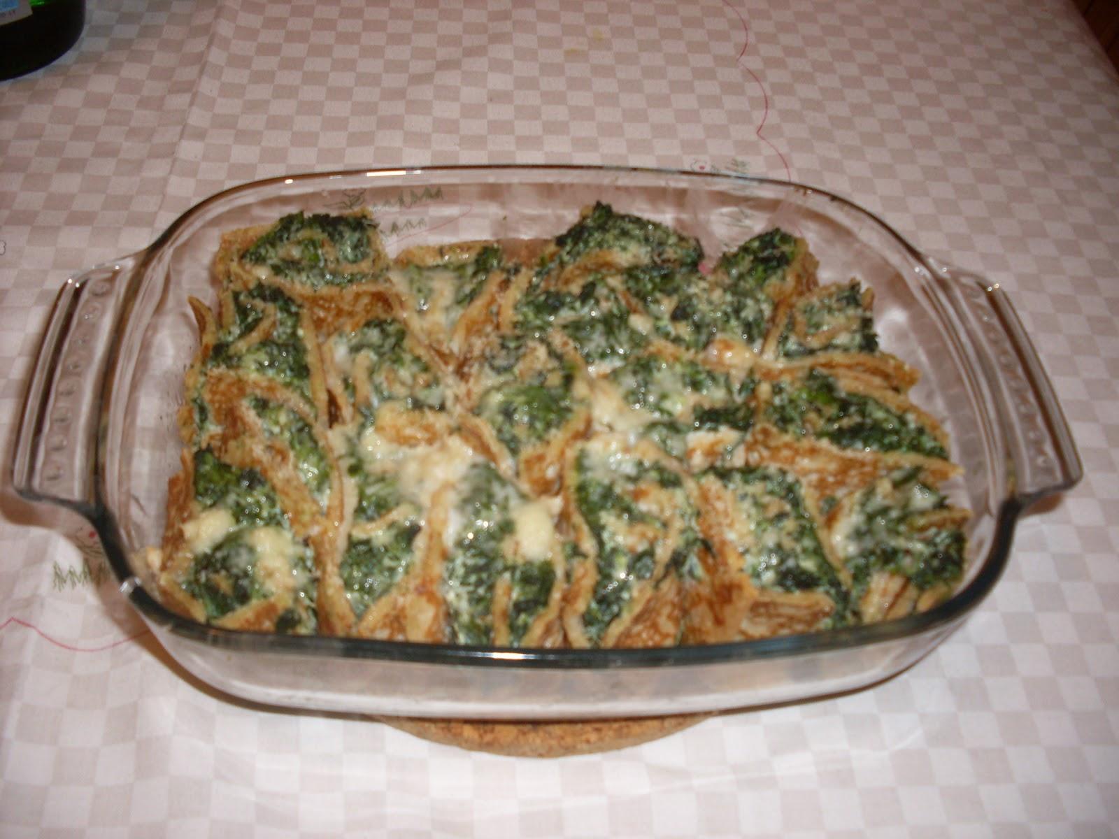 Ricetta crepes ricotta e spinaci bimby