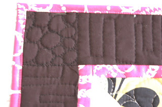 Half Square Triangle Quilt- Quilted