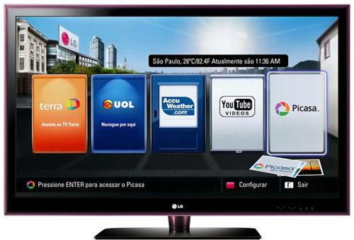 45f2e3ec4 Acesse os seus vídeos preferidos do YOUTUBE, direto da tela da sua TV.  Assista com maior resolução e com cores mais nitidas decorrentes da  tecnologia ...
