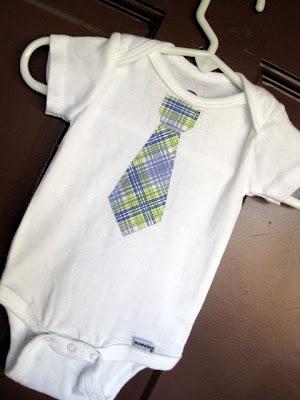 Lu Bird Baby New Tie Onesies