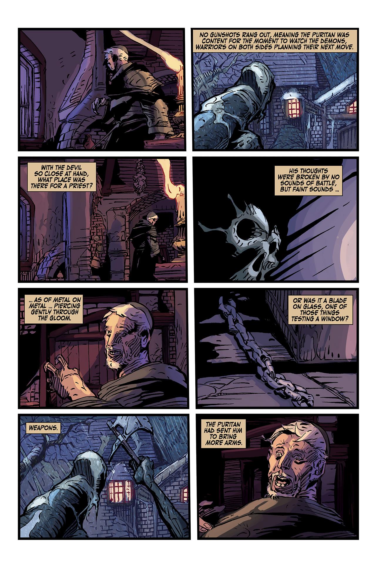 Read online Solomon Kane: Death's Black Riders comic -  Issue #3 - 11