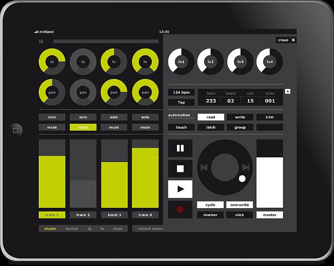 remember music ideas ipad as ableton midi controller w touchosc live control. Black Bedroom Furniture Sets. Home Design Ideas