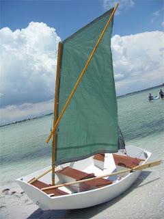 Stitch and glue sailing dinghy | Step wilson