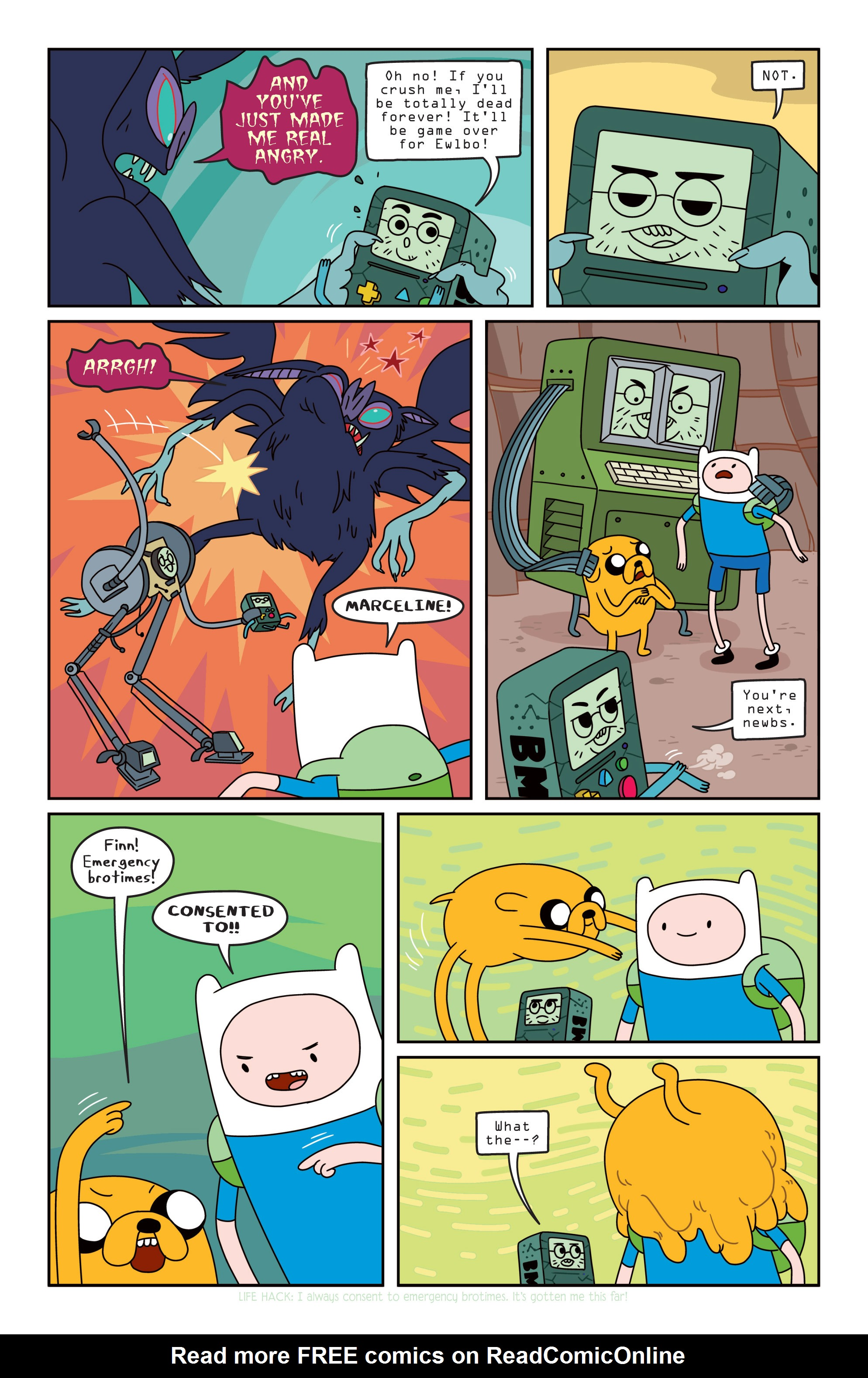 Read online Adventure Time comic -  Issue #13 - 11