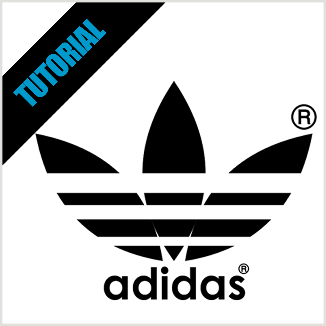 how to make adidas logo coreldraw | Adidou