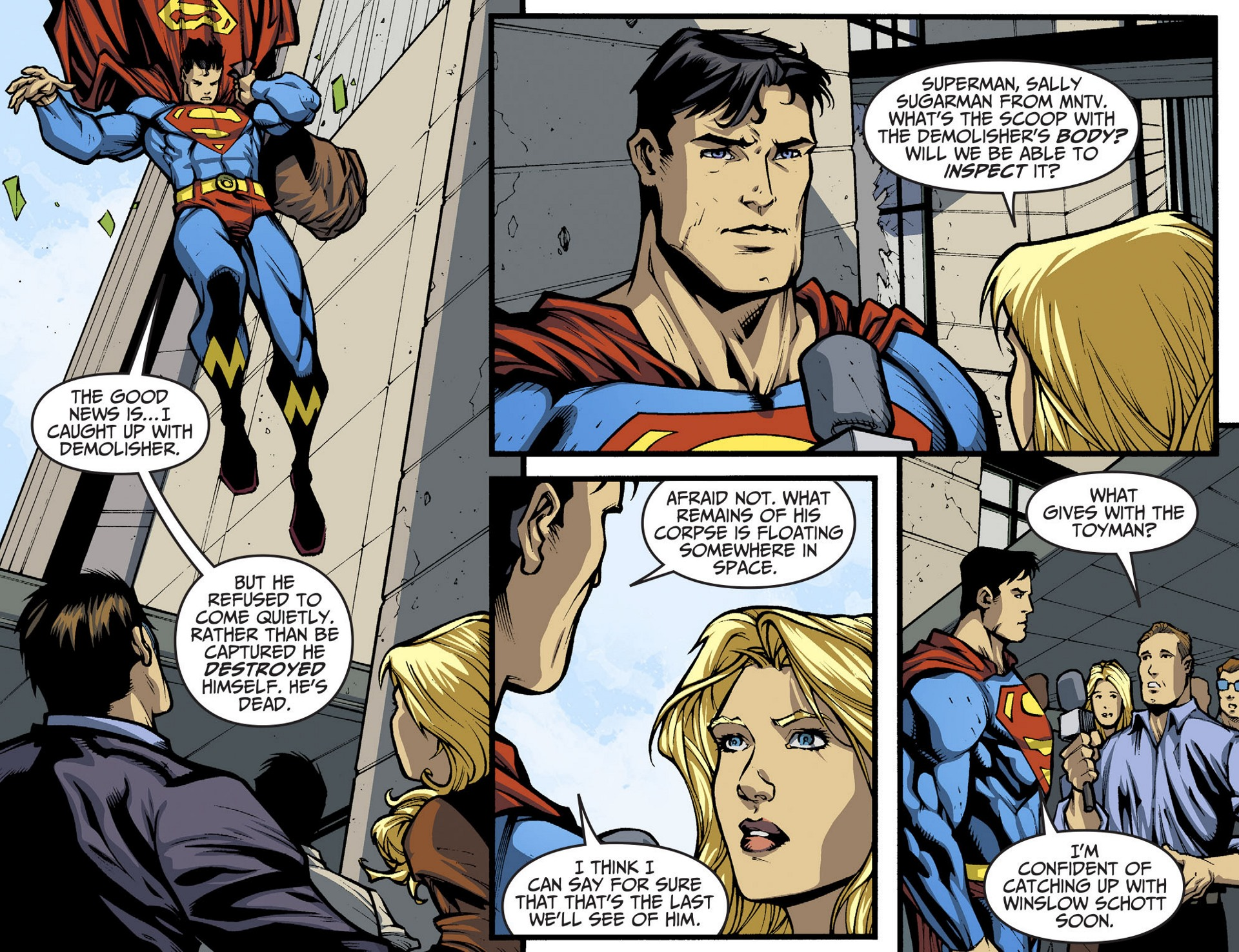 Read online Adventures of Superman [I] comic -  Issue #36 - 17