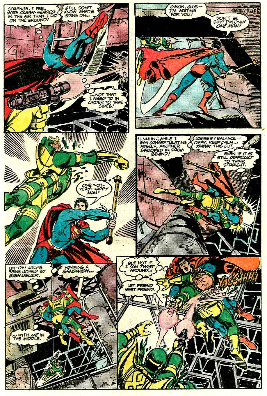 Read online Adventures of Superman (1987) comic -  Issue #426 - 12