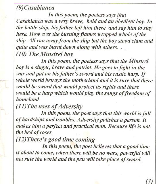 the minstrel boy poem