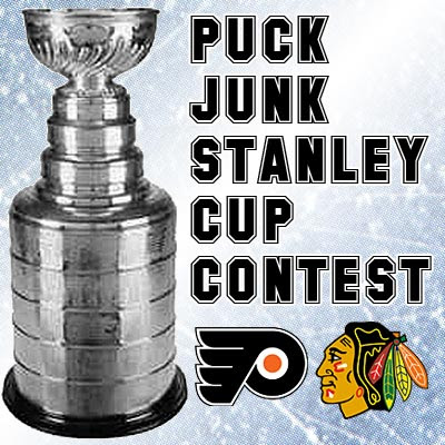 Puck Junk Stanley Cup Contest