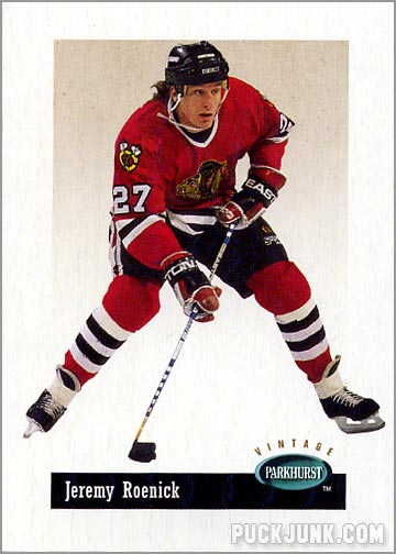 Career in Cards  Jeremy Roenick - Puck Junk ed4d3137d