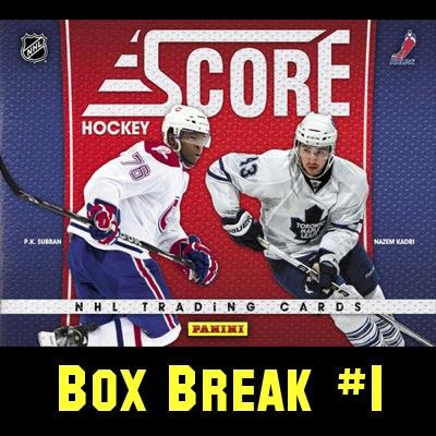 2010-11 Score Hockey box break #1