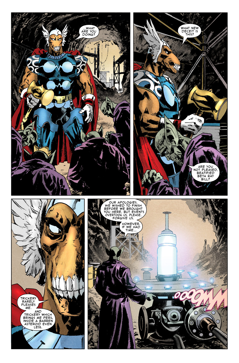 Read online Secret Invasion Aftermath: Beta Ray Bill - The Green of Eden comic -  Issue # Full - 13