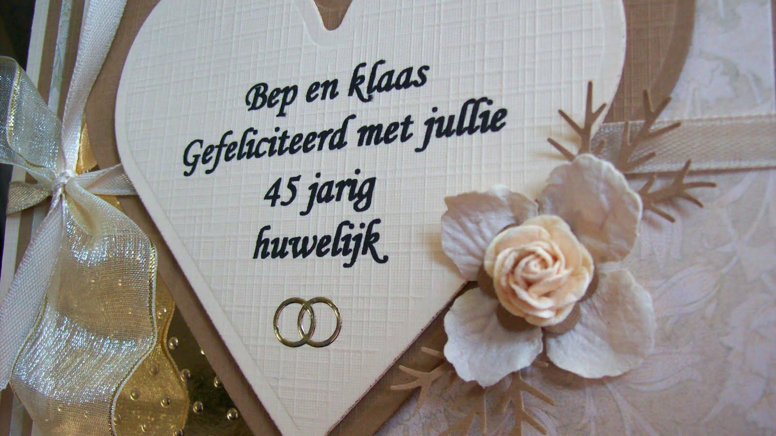 huwelijk kaart 12 jaar getrouwd