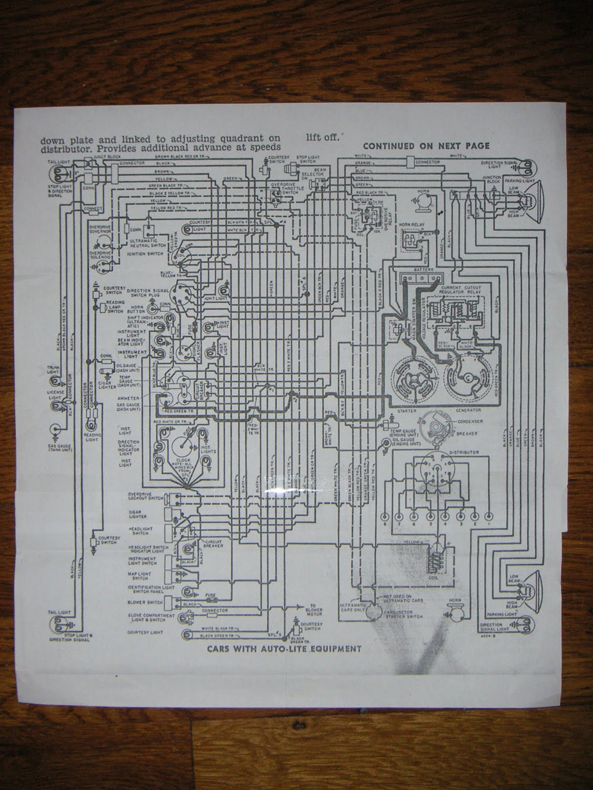 1951 Olds Wiring Diagram Will Be A Thing 1942 Farmall M Electrical Schematic Oldsmobile 1956 Desoto Automotive Diagrams Basic