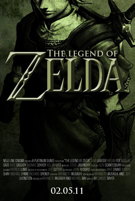 A Sunny Diploma: Create an Poster for the non-existant Zelda