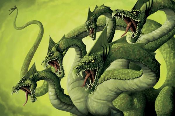 Dragon From Greek Mythology: Once A Fish, Now A Dragon: Lernaean Hydra