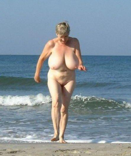 Something also old granny naked on the beach excellent