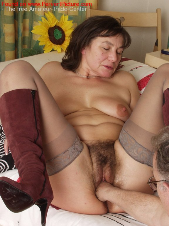image Oldnanny old lady sucking dick and have sex with young guy