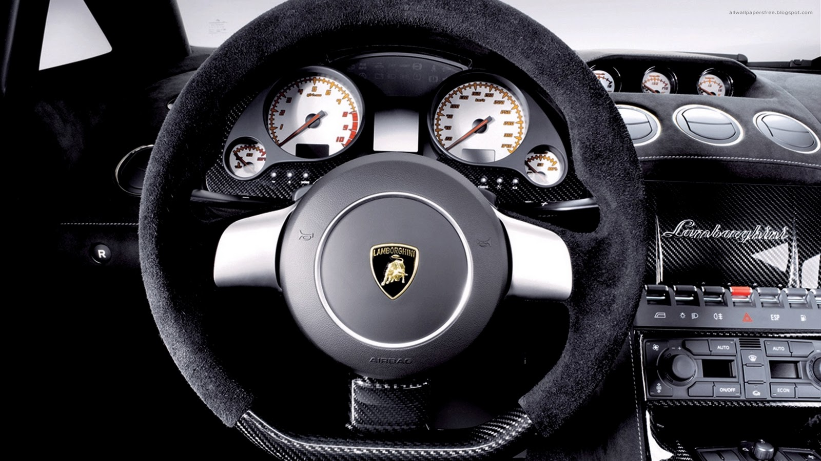 Hd Wallpapers Planet Lamborghini Steering Wheel